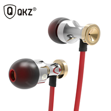 2017 New Original QKZ KD1 In Ear Earphone HIFI fone de ouvido auriculares audifonos gaming headset fones de ouvido Earphones(China)