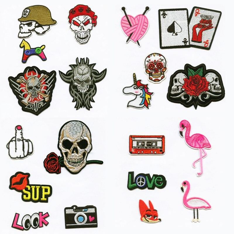 Detalle Comentarios Preguntas sobre Moda mujer DIY cráneo Punk amor ...