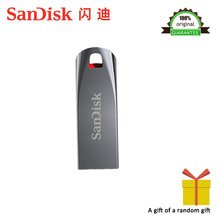 100% Original Sandisk CZ71 USB Flash Drive 8GB 16GB 32GB mini pen drives 2.0 pendrives 64GB Support Official Verification