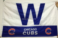 NEW 2016 Baseball Chicago Cubs W throwback Flag 3ft x 5ft USA Flag(China)