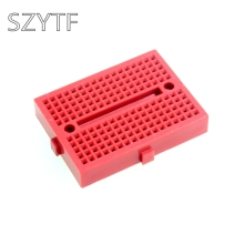 SYB-170  Red bread board / test board / color small breadboard / 35X47mm imported materials (10pcs/lot)