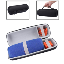 PU New Bag Travel Carrying Storage Case For JBL Charge 3 /Charge3 Pulse 2 Wireless Bluetooth Speaker. Fits USB Cable and Charger