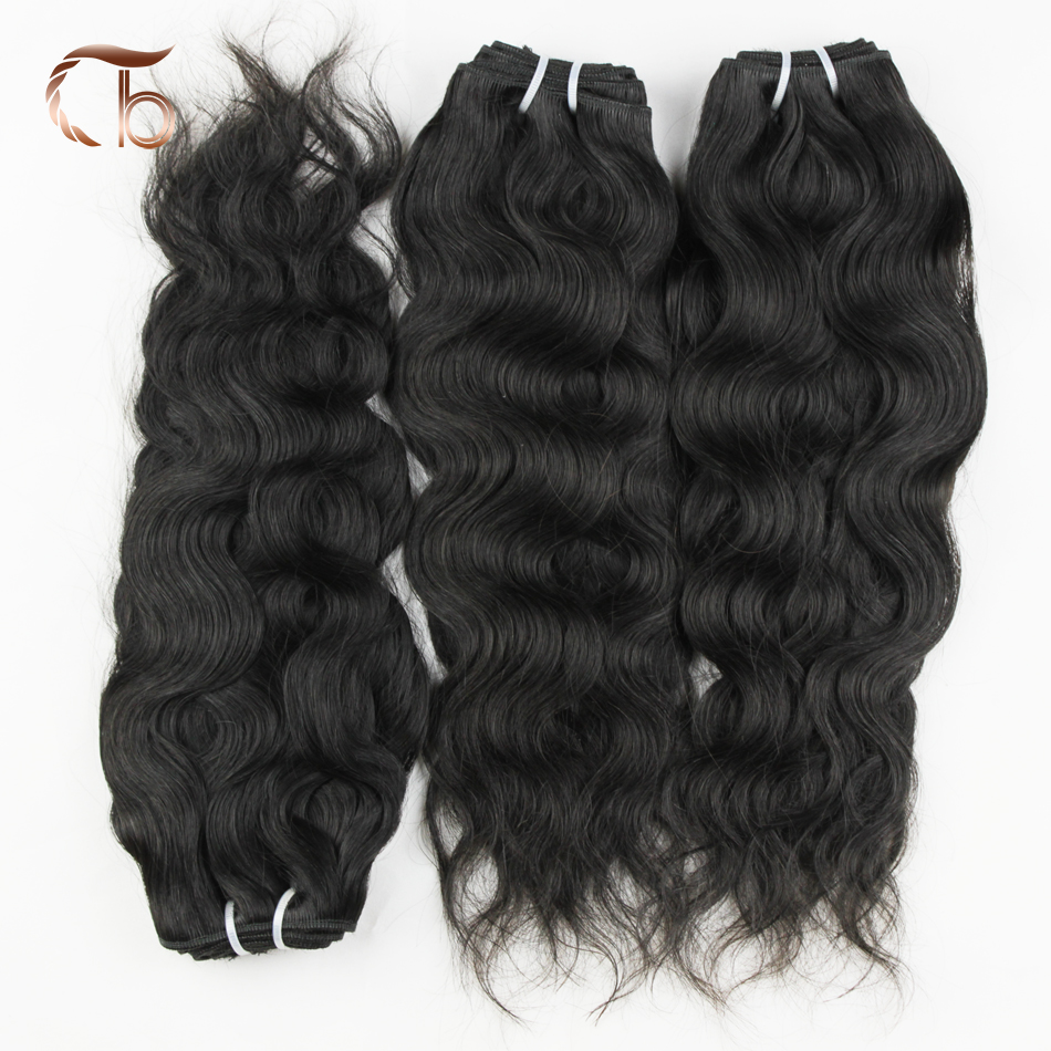 brazilian virgin hair natural wave 2bundles per lot human hair weaves customized 8-30 inches hair extensions<br><br>Aliexpress