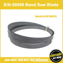 Free shipping!S/N:50090 Thermometal Band Saw Blade/hack saw blade for ROY-MBS125 Band Saw Machine