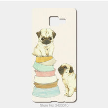 High Quality Cell phone case For Samsung Galaxy 2016 A5 A7 A3 J5 J7 J3 J1 Case Hard PC Pugs on Pinterest Patterned Cover(China)