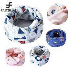 New Plush Winter Baby Scarf  Kids Child Cotton Scarves Boys Girls O Ring Scarf Children Collars Neck Scarf