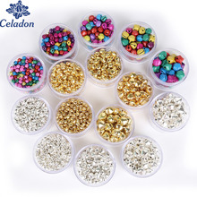 20-300Pcs 6mm 8mm 10mm 12mm 14mm Jingle Bells Iron Loose Beads Small For Festival Party Decoration/Christmas Tree Decorations(China)