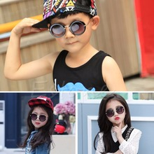 Stylish Baby Goggles Children Child Kids Boys Girls Retro Anti-UV400 Sunglasses New 2017