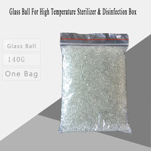 Glass Ball for High Temperature Sterilizer & Disinfection Box Nipper Tweezers Tools Clean Sterilizers Pot