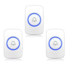 Xinsilu  3PCS Help Elderly Wireless Panic Button Emergency Button Wireless Calling System 433MHz for Our Alarm System P511