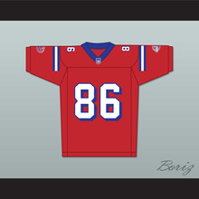 David Denman Brian Murphy 86 Washington Sentinels Home Football Jersey The Replacements Includes League Patch 2(China)