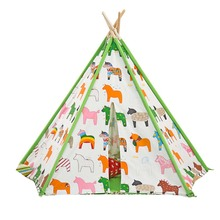 child birthday tents  play house Indian tent Pure cotton cloth tents of inside and outside of room  play hosse