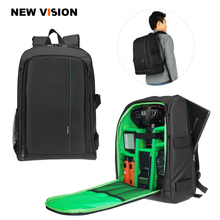 "Waterproof Digital DSLR Photo Padded Backpack w/ Rain Cover Laotop 15.6"" Multi-functional Camera Soft Bag Video Case"