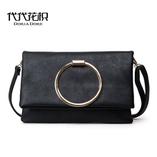 Korean Fashion Women Shoulder Bags louis cc Bags All-match Large Envelope Clutch Bags michael Handbags Messenger Bags sac canta