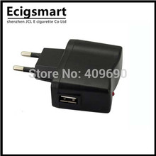 EU Plug US Plug AC Power Adapter EU Wall Charger for E cig E Cigarettes eGo Electronic Cigarette Battery Adaptor