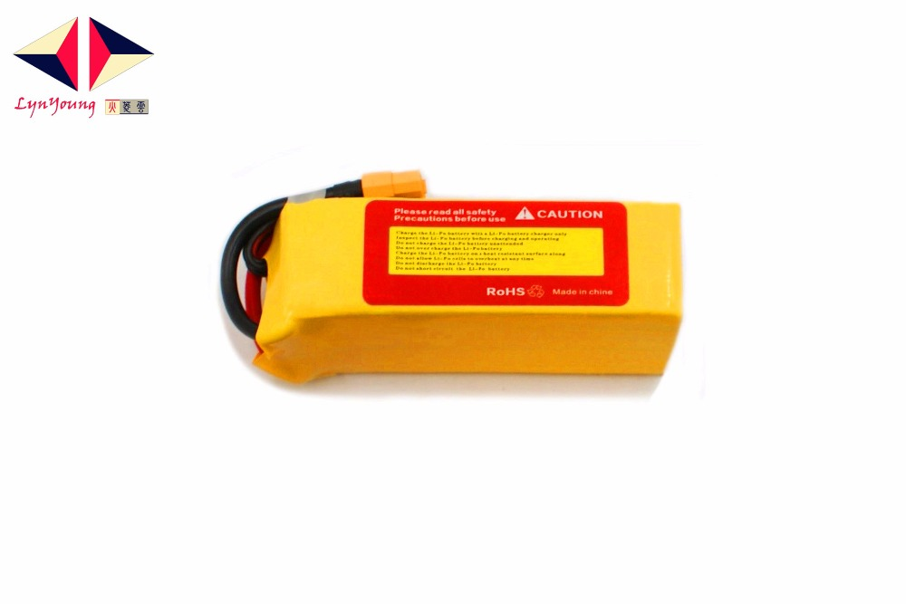 1800mAh 22.2V 30C 6s LYNYOUNG Lipo battery for RC 6 Axis Drone Aircraft Car Boats Glider Truck Rechargeable helicopter Airplane