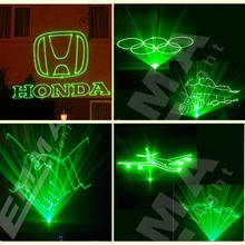 500mW green animation laser light ,advertising lighting show/Dmx Laser Display System(China)