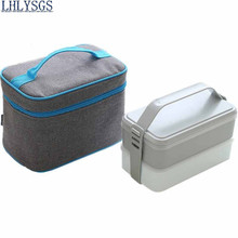 LHLYSGS Brand 1 Set Fresh Keeping Women Insulated  lunchboxes Lunch Bag Hand Carry Thickened Tin Foil Insulation Cooler Bag