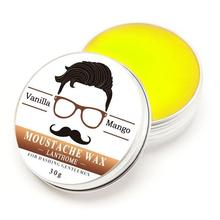 Natural Conditioning Softener Beeswax Moustache Wax 30g Beard Balm Organic Beard Conditioner Leave in Styling Aftershave For Men(China)