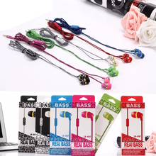 5PCS / Latecomer LX007 Stereo Music 3.5mm In-ear Cheap Earphone Headsets Fashion Colorful Earphones for Mobile phone MP3 LX 007