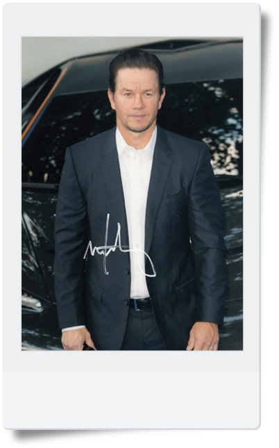 signed Mark Wahlberg autographed photo 7 inches hot male actor freeshipping 082017B<br>