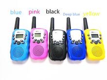 2pc portable Kids Walkie Talkie Pair pmr Radio Station For Amateur CB Radio Mobile Radio Transceiver Intercomunicador T388