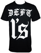 Fashion Design Free Shipping Authentic Deftones Band Deft 1s Logo T-shirt S-2xl New