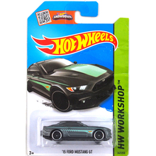 Free Shipping hot 1:64 car wheels Black Mustang GT Metal Alloy Model Wholesale Metal Cars For Car Collection 1:144 metal models