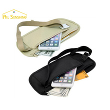 Travel Waist Crossbody Pack Women Belt Fanny Punch Money Security Coin Purse Passport Cover Phone Bag Case Storage For Car Seat