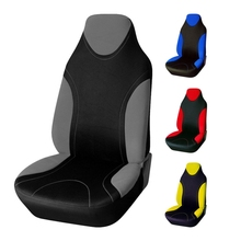 Classic Car Seat Cover Universal Fit for lada Honda Toyota Interior Accessories Seat Cover 4 Colour Non Detachable Car Headrest