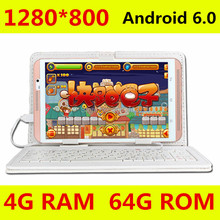 8 inch Tablet Computer Octa Core M880 Android 6.0 Tablet Pcs 4G LTE mobile phone android Rom 64GB tablet pc 5MP IPS(China)