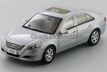Special Offer! Silver 1/18 Hyundai Sonata NFC Alloy Model Car Christmas Toy Gift Classical Style Cars for Sale Aluminum Products