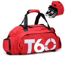 Brand New Waterproof Unisex Gym Bag With Separate Space For Shoes And Hide Backpack 016