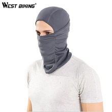 WEST BIKING Cycling Mask Super Elastic Quick Drying Moisture Permeability Cycling Mask Headgear Sun Protection Bicycle Cap