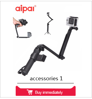 AIPAL Collapsible 3 Way Monopod Mount Camera Grip Extension Arm Tripod Stand Action Camera Accessories for gopro 5 4 xiaomi yi
