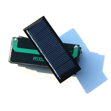 Wholesale 100PCS/Lot 0.2W 3.5V Mini Solar Panel Polycrystalline Solar Cell Easy For DIY Small Power Applications Free Shipping(China)