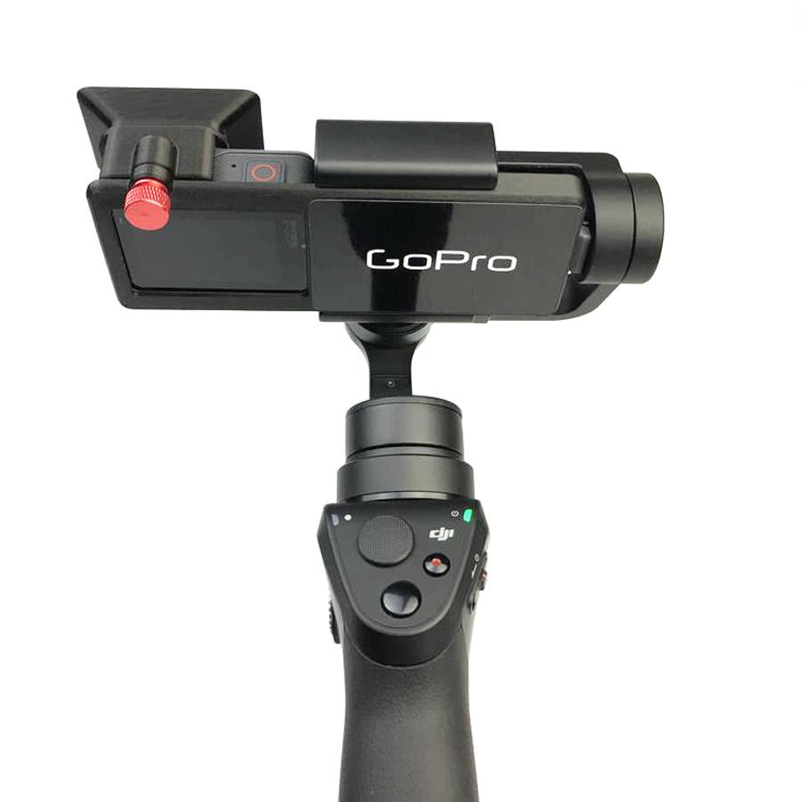 DJI OSMO Mobile Handheld Gimbal Turn Switch Mount Plate Camera Lens Sun Shade Hood for Gopro hero 5 DJI OSMO Z1-Smooth Zhiyun 7