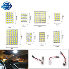 2setsX Led Panel 6/9/12/15/18/24/36/48 SMD 5050 T10 Ba9s c5w Adapter Festoon Dome reading Light Accessories Car Auto motor DC12V(China)