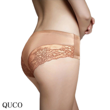 Buy QUCO New Arrival Underwear Women Lace Women Sexy Panties Low Waist Hollow Transparent Panties Underwear Seamless T String Thongs