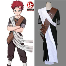 Anime Individual NARUTO Gaara 3rd Men's Cosplay Costume Male Hokage Halloween party Any Size Freeshipping