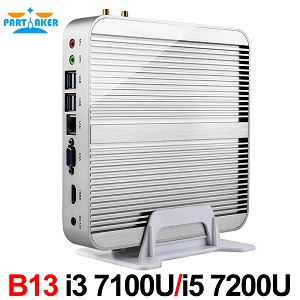 B13 i3 i5 fanless pc