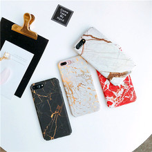 Buy iphone 8 8Plus Retro Marble hard Plastic Case iphone 6 6s 7 7plus 6Plus 6plus Stone pattern phone case back cover for $3.77 in AliExpress store