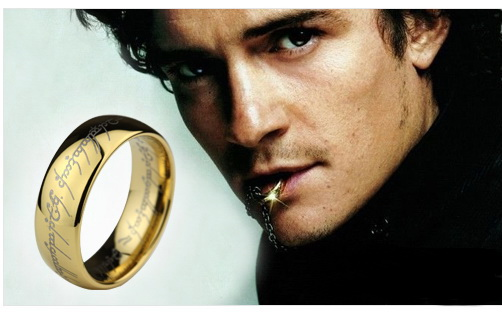 · Johnny Depp and the Ring