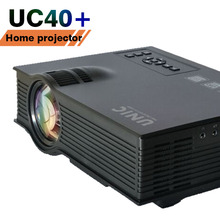 Kids Toy projector beamer UC40/UC40+ mini led lcd HD 1080P 800*480px 1200lumens big screen PC laptop phones Xbox TV games movies