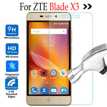 Blade X 3 Tempered Glass For ZTE Blade X3 A 452 LTE 4G Screen Protector Film For ZTE Blade A452 X3 X 3 T620 Phone Case cover