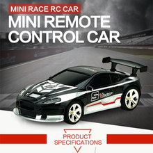 2016 Hot Sale 1:58 Mini Car Toys 4CH Coke Cans Pack Drift Radio Control Speedcross 3 Electric RC Cars For Children(China)