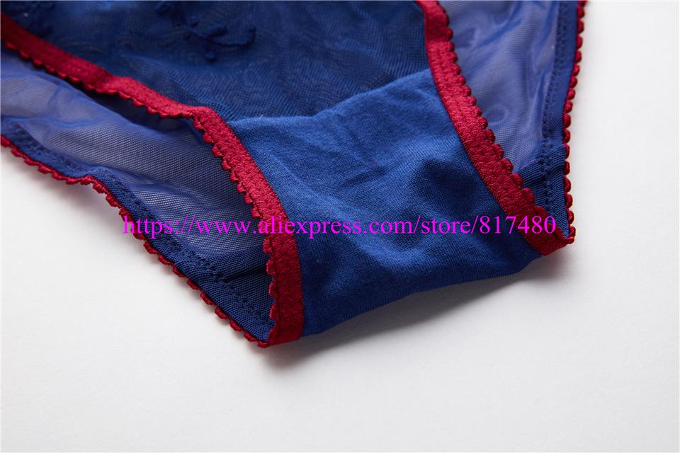 New Sexy Lace bra brief set gathered underwear Woman push up bra set,brassiere lingerie set summer thin bra sets 9