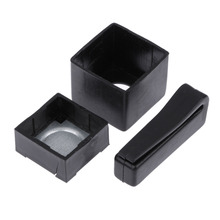 1 Pcs Chalk Holder Pool Billiards Snooker Accessories Magnetic Cue Standard Chalk Holder with Belt Clip Fit for Snooker