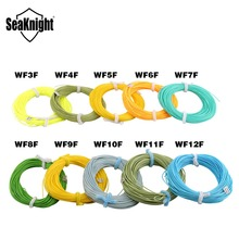 1PCS SeaKnight 27.5M / 30.5M WF3F WF4F WF5F WF6F WF7F WF8F WF9F WF10F WF11F WF12F High Quality 100FT Fly Fishing Line Fly Line