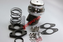 38mm External Wastegate w/ Adjustable Springs Anodized  Finish